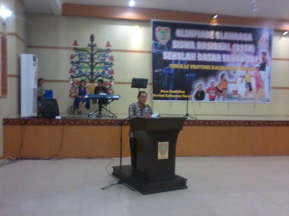 Pembukaan O2sn Sd Provinsi Kalimantan Tengah Mardiyanto